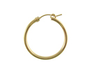 Gold-Filled Hoop Earrings