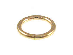 14K Gold - 6mm Closed Jumpring 20.5ga