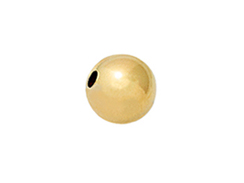 14K Gold - 2mm Round Bright Beads