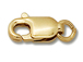 14K Gold - 10x4mm Lobster with Ring
