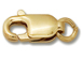 14K Gold - 12x5mm Lobster with Ring