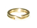 14K Gold - 5mm Round Split Ring