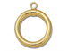 14K Gold - Small Toggle Ring