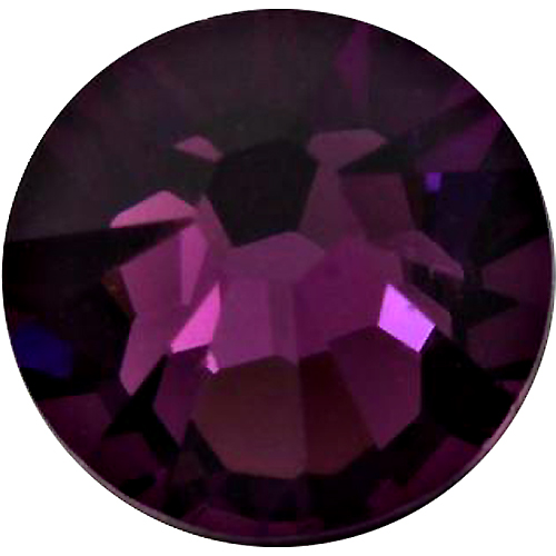 360  Amethyst -  2028 Swarovski SS30 Glue On Flat Backs
