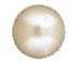 1440  Crystal Cream  2080/4 Swarovski Hotfix Flat Back Pearls SS16 Round