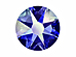 1440  Capri Blue AB -  2028 Swarovski SS20 Glue On Flat Backs