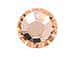 1440  Light Peach -  2028 Swarovski SS10 Hotfix Flat Backs