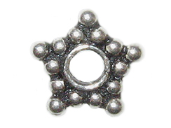 8.75mm 5-Point Star Bali Bead