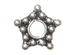 8.25mm 5-Point Star Bali Bead