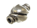 14x8mm  Bali Style Silver Bead