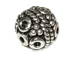 6.9x7.3mm Bali Style Silver Bead  Bulk Pack of 50