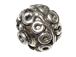10mm Bali Style Silver Bead