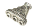 Triangle 3-1 Reducer Bali Style Silver *VERY SPECIAL PRICE* @ $1.20/gm  to $1.00/gm