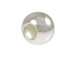 Sterling Silver 8mm Plain Large Hole Bead-(3.5mm Hole)