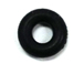 4mm Rubber Round Black Stopper Ring