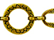 Tribal Design Antique Brass Chain