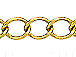 Curb Link Gold Plated Chain