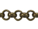 Rolo Antique Brass Plated Chain