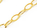 Gold Filled 3.25mm x 2.5mm Cable Chain