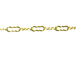 Gold Filled Fancy Scalloped Edge Oval Link Chain, 3.5mm x 1.5mm, 200 feet