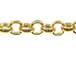 Gold Filled Rolo Chain, 2.25mm