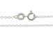 16-inch Sterling Silver 025 Cable Finished Chain