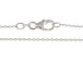 18-inch Sterling Silver Diamond Cut 030 Cable Finished Chain