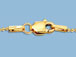 18-inch 14K Gold Filled 1mm Bead Finished Necklace with Lobster Clasp