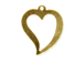 16mm Gold-Filled Open Heart Charm