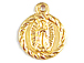 8.5mm Gold-Filled Virgin Guadalupe Charm