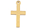 14mm Gold-Filled Cross Charm