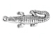 Sterling Silver Large Alligator Charm