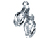 Sterling Silver Sandals Charm