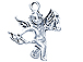 Sterling Silver Cupid Charm