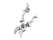 Sterling Silver Pruning Shears Charm