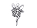Sterling Silver Right Facing Fairy Charm