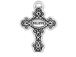 Sterling Silver Cross with Believe Charm Jumpring included Charm with Jumpring