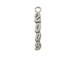 Sterling Silver 2009 Vertical Charm