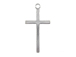 Sterling Silver Plain Cross Charm