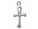 Sterling Silver Ankh Charm with Jump Ring
