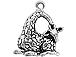 Sterling Silver Giraffe Charm with Jump Ring