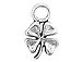 Sterling Silver 4 Leaf Clover Charm with Jump Ring