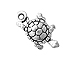 Sterling Silver Turtle Charm with Jump Ring