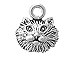 Sterling Silver Cat Head Charm with Jump Ring