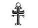 Sterling Silver Cross Charm with Jump Ring