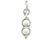 Two Peas in a Pod Charm Sterling silver
