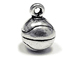 Sterling Silver 3D Basketball Charm 2.8gm