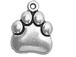 Sterling Silver Paw Charm with Jump Ring