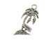 Sterling Silver Palm Tree with Florida Sign Charm