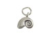 Sterling Silver Nautilus Shell Charm with Jumpring
